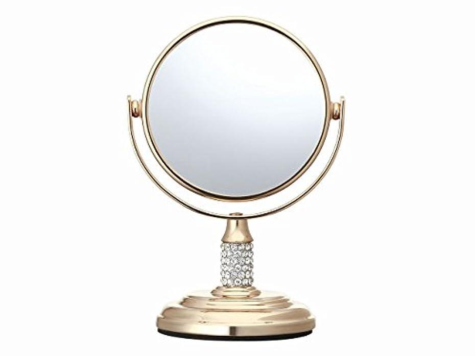 逆に釈義出くわすコイズミ 拡大鏡 サイズφ75mm ゴールド KBE-3052/N