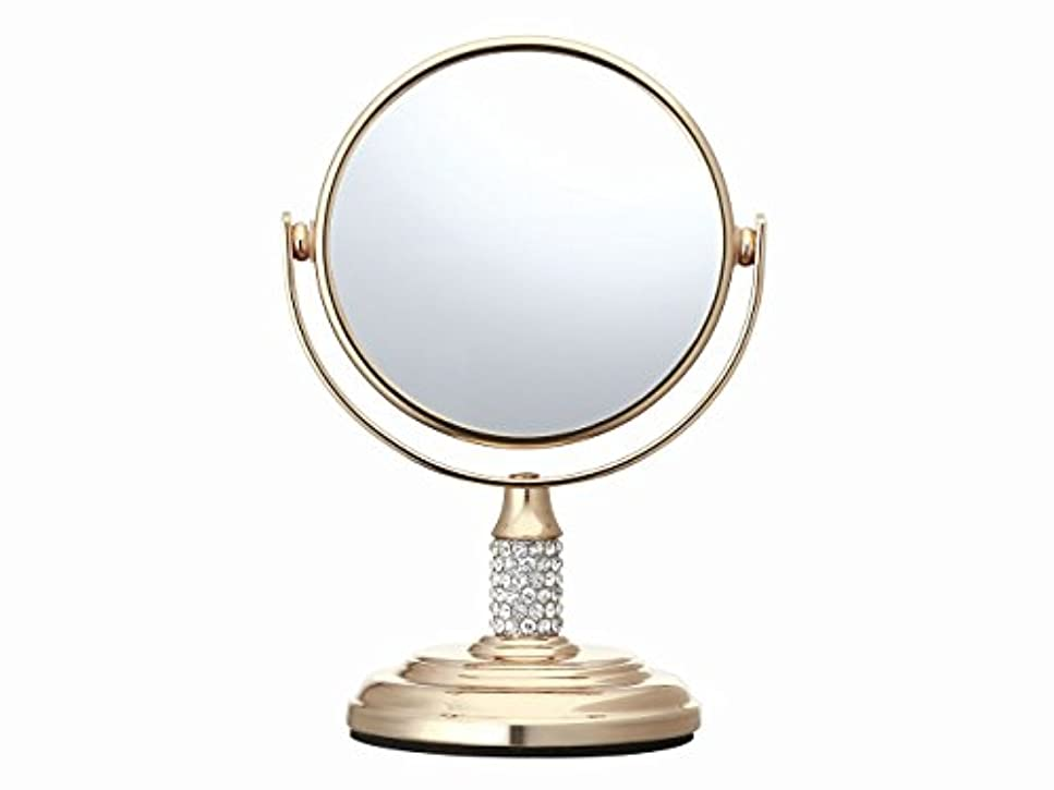 ベーリング海峡カート反対コイズミ 拡大鏡 サイズφ75mm ゴールド KBE-3052/N