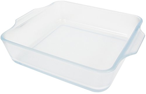 アデリア 耐熱ガラス グラタン皿 800ml こびりつきにくい容器 セラベイク スクエアロースターMS 電子レンジ・オーブン対応 K-9491