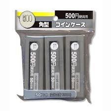 五百円玉が50枚収納できる 角型 コインケース 500円用 ...