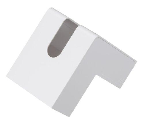 RoomClip商品情報 - +d フォリオ ティッシュケース ホワイト D-660-WH