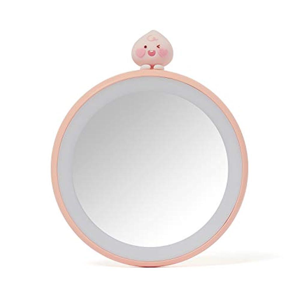 エイズ吐き出す私たちのもの[オフィシャル] カカオフレンズ - TWICE EDITION LEDライト付きハンドミラー KAKAO FRIENDS - TWICE EDITION Lighted Mirror (Apeach)