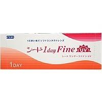 ワンデーファインUV(30枚入り)、1日タイプ【BC】8.7 【PWR】-12.00
