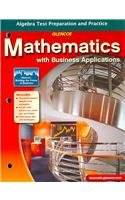 Mathematics with Business Applications: Algebra Test Preparation and Practice (LANGE: HS BUSINESS MATH)