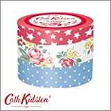 【Cath Kidston】キャス・キッドソン マスキングテープ3巻セット クロニクル・ブックスA CN-MKT1-A / マークス