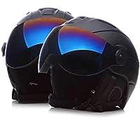 Fashionwu ヘルメット スキー ゴーグル付き 通気性 怪我防止 耐衝撃 スノーボード 男女兼用