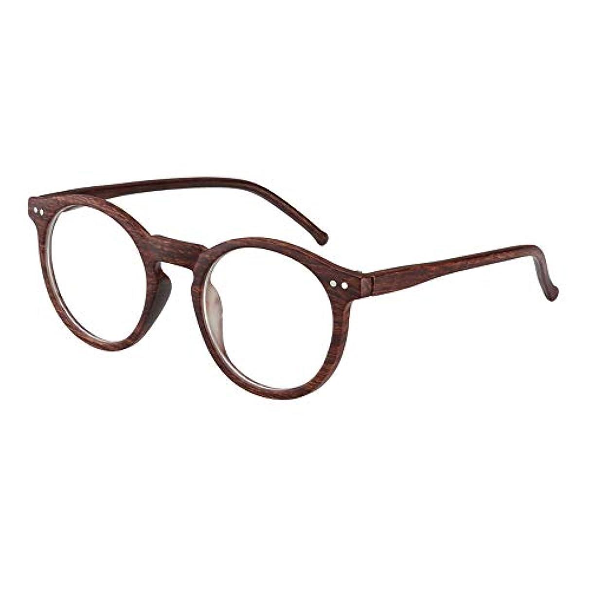 抗疲労老眼鏡、屋外変色防止放射線レトロサングラス、模造木目HD抗UV老眼鏡、両親の最高の贈り物ZDDAB