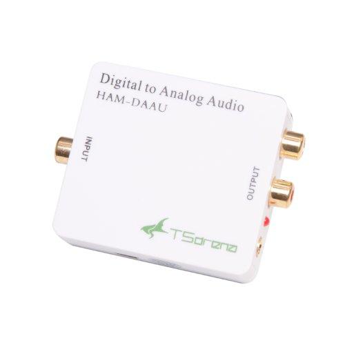 TSdrena DAC (デジタル → アナログ) オーディオ変換器 HAM-DAAU