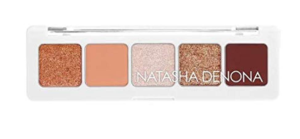 基礎理論所得反逆者ナターシャデノナ ミニ ヌード アイシャドウ パレット(Mini Nude Eyeshadow Palette)