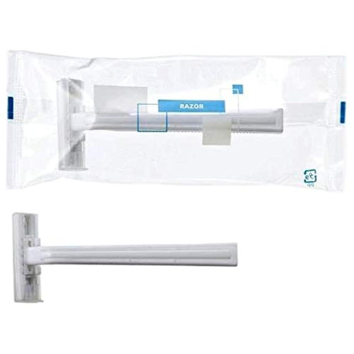 制限された候補者液化するカミソリ2枚刃 袋入 ムサシ2 (eシリーズ) 250入