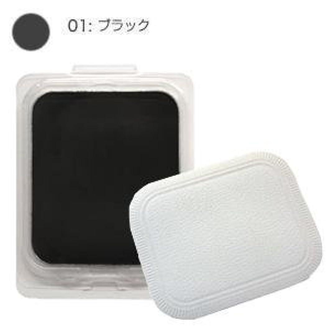 習熟度デコレーションヒロイックモナリザ ヘアケアファンデーション つめかえ用 (ブラック) 12g(パフ付)