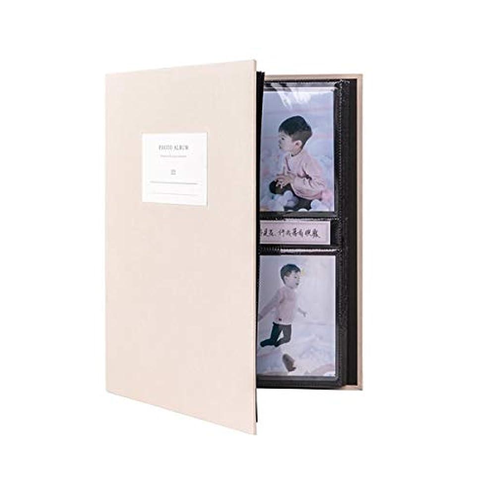 バーゲンセクション超高層ビルNTSM 大容量フォトアルバム、記念アルバム、コレクション、間質3インチ5インチ10インチのフォトストレージブック (Color : Beige, Size : Mixing)