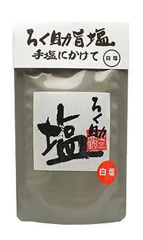 ろく助 顆粒タイプ(白塩)150g 干椎茸 昆布 干帆立貝 のうま味をプラス