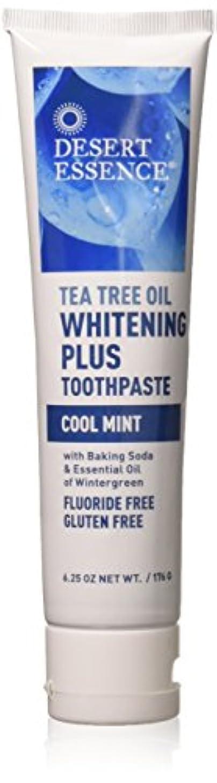 高度爵年齢ティーツリーオイル ホワイトニング フッ素なし歯磨き粉 177g/6.25oz [海外直送品]