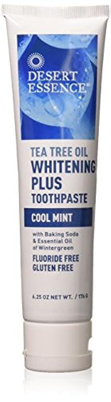 重大検査官ノベルティティーツリーオイル ホワイトニング フッ素なし歯磨き粉 177g/6.25oz [海外直送品]