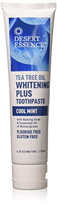 ご近所国家人ティーツリーオイル ホワイトニング フッ素なし歯磨き粉 177g/6.25oz [海外直送品]