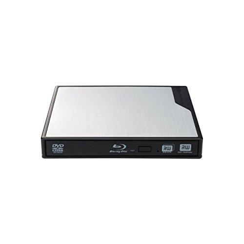 Logitec ポータブルブルーレイドライブ 4K・3D再生 TortalMedia Extreme3付属 【Surface Pro3対応】 USB3.0 シルバー LBD-PMJ6U3VSV