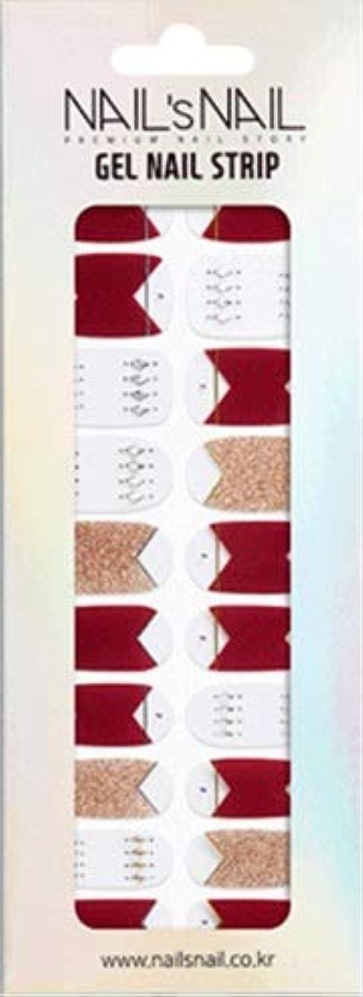 出版ソロ盆\貼るジェルネイル/Nail's Nail(ネイルスネイル) ジェルネイルストリップ 109