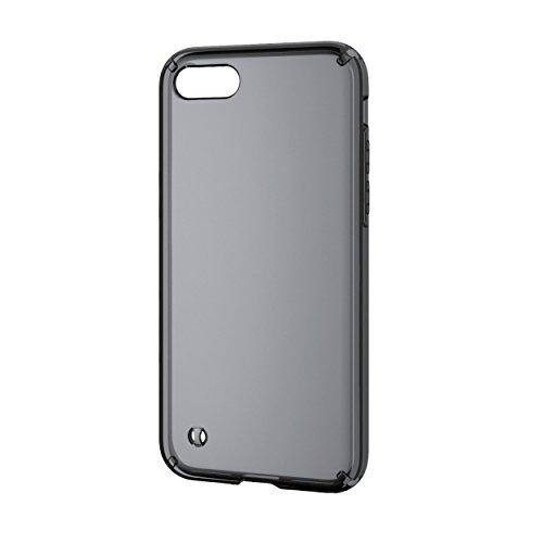 エレコム iPhone8/ハイブリッドケース/ブラック PM-A17MHVCBK 1個