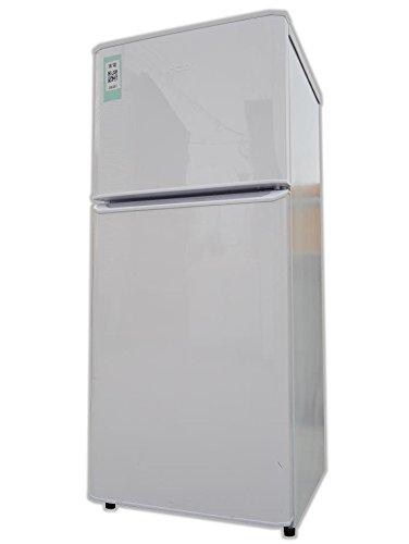 ハイアール 121L 2ドア冷凍冷蔵庫 ホワイト JR-N121A-W