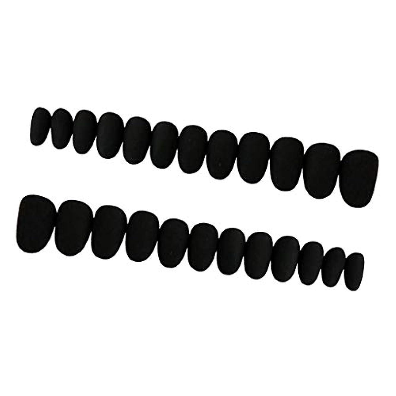 反射明らかに通貨約24枚 ネイルシール ネイルアート ネイルラップ ネイルステッカー 貼るだけ ネイル装飾 全3色 - ブラック