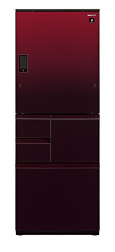 シャープ メガフリーザー 冷蔵庫 551L グラデーションレッド SJ-WX55D-R
