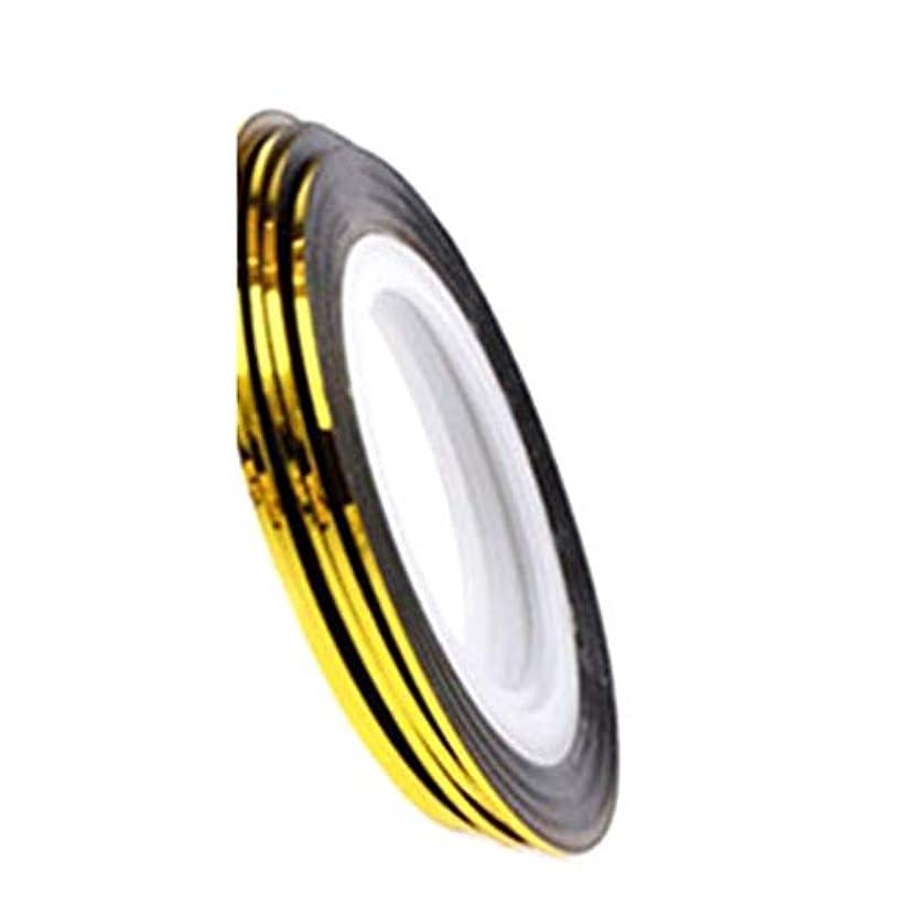 請負業者増幅あまりにもCICIAO 1ロールネイルアート20M粘着ストライプテープラインデカールステッカー装飾