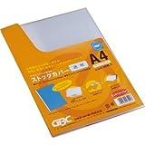 (まとめ) アコ・ブランズ ストックカバー A4窓なし 透明 SC20PC 1パック(20枚) 【×