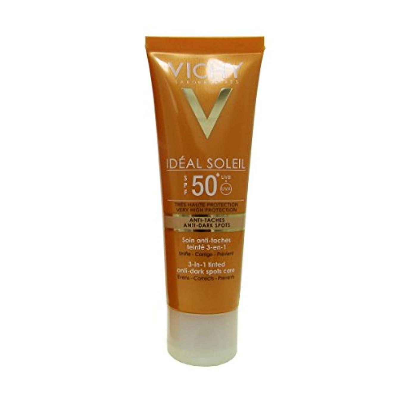 限り未使用見るVichy Capital Soleil Ideal Soleil 3-in-1 Tinted Anti-dark Spots Care Spf50 50ml [並行輸入品]