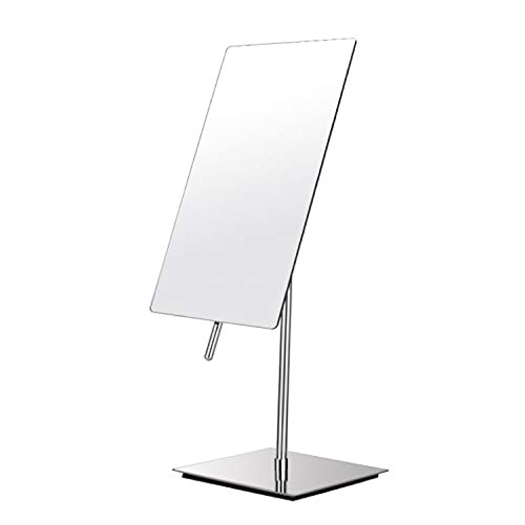 お気に入り速報在庫鏡 卓上 拡大しない 化粧鏡 女優ミラー メイクアップミラー 210x130mm 長方形鏡面 90度回転 スタンドミラー メイク ガラスサー 寝室や浴室に適しています