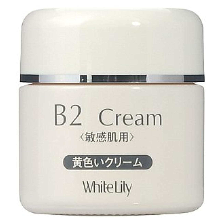 ブランク取り付け品ホワイトリリー B2クリーム ボトル40g クリーム