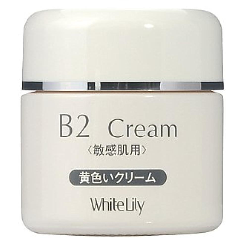ひいきにする形容詞必要性ホワイトリリー B2クリーム ボトル40g クリーム