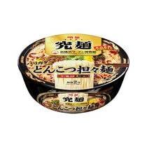 明星 究麺 新横浜ラーメン博物館 バリカタとんこつ担々麺 X1箱(12入)