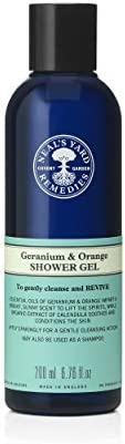 Neal's Yard Remedies Geranium & Orange Shower Gel 200ml, 200 mil