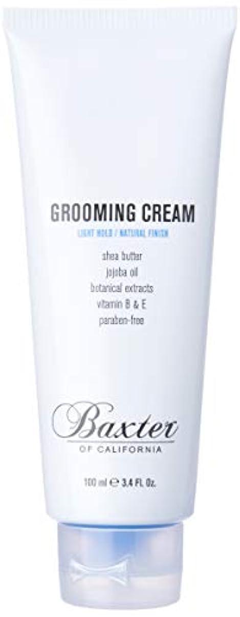 作動する上陸ハンドブックバクスターオブカリフォルニア Grooming Cream (Light Hold / Natural Finish) 100ml/3.4oz並行輸入品