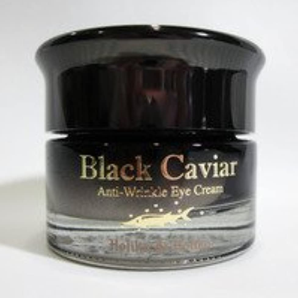 余計な必要刺すHolika Holika ホリカホリカ ブラックキャビア アンチリンクル クリーム Black Caviar Anti-Wrinkle Cream