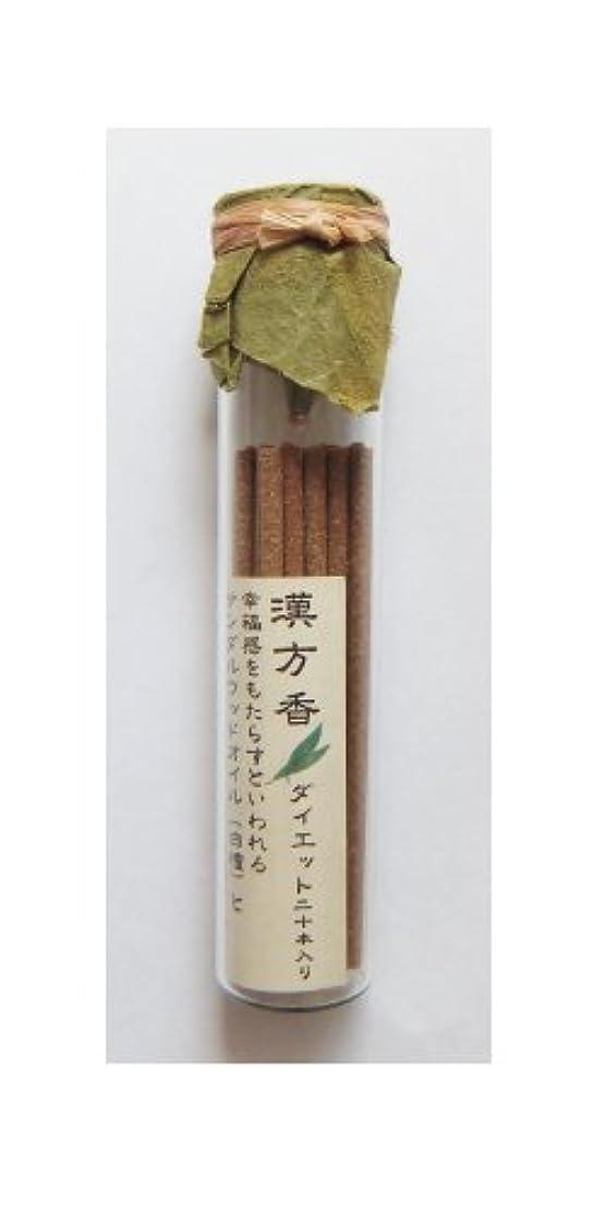 鳴り響く北へ収束悠々庵 漢方香(太ビン)ダイエット