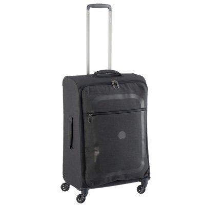 デルセー|超軽量|中型スーツケース|ダーフィン 【57cm】 DDAS-57 (DELSEY)ブラック