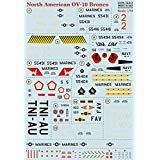 濡れDecal for republicwetデカール印刷のスケールの北アメリカOV - 10Broncoモデルデカール1/ 7272–317濡れのデカールをAircraft