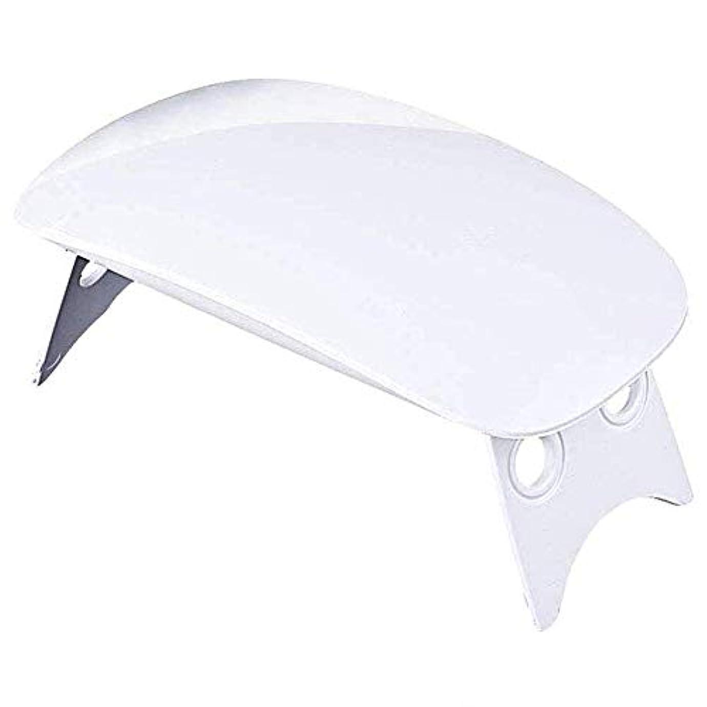 器用飛行場スリチンモイLEDネイルドライヤー UVライト 折りたたみ式 設定可能 タイマー ジェルネイル