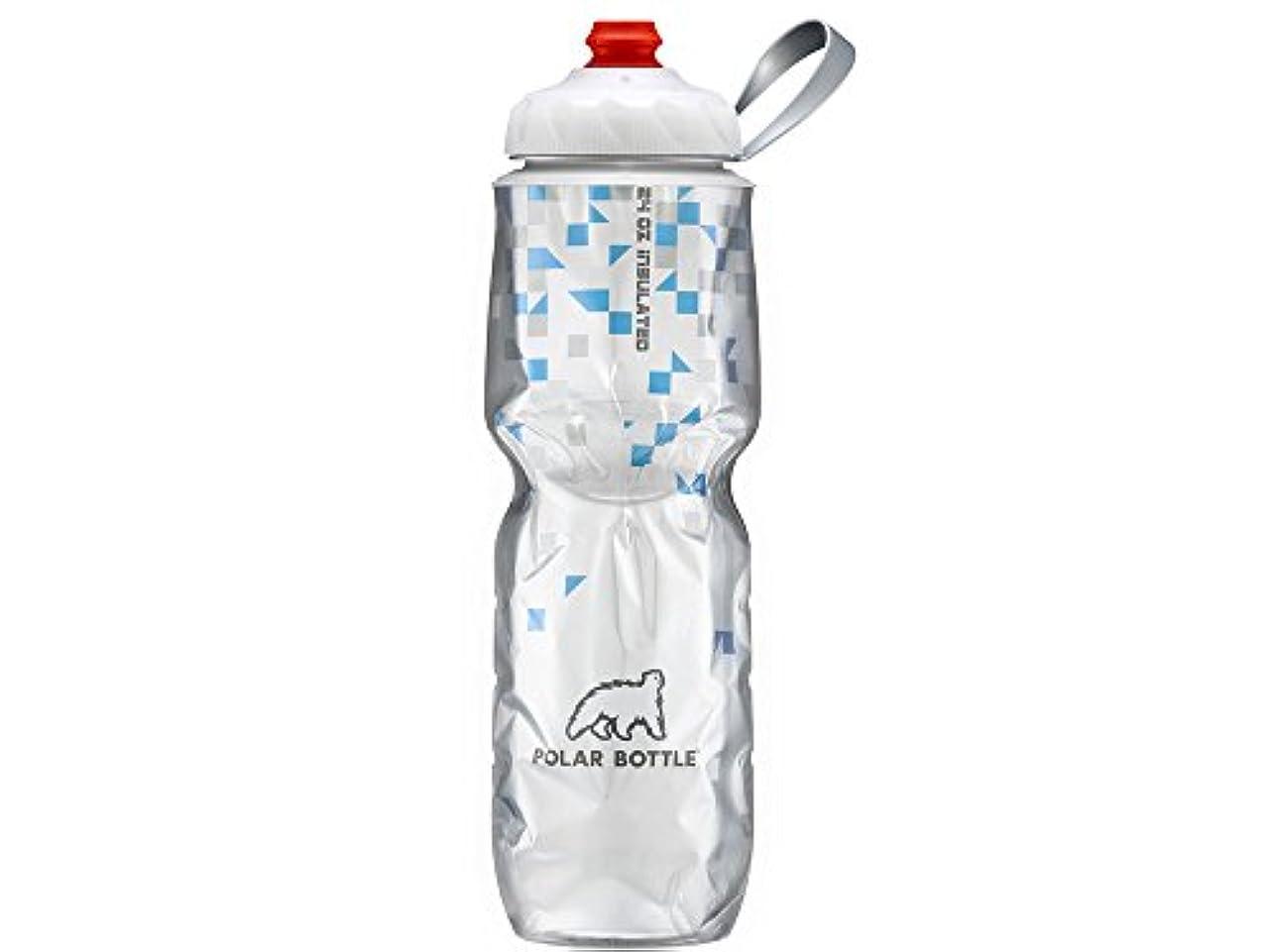 セットアップ欠員うなずくPOLAR (ポラー) ジップストリーム ブレークアウェイ 保冷ボトル 24oz ブルー
