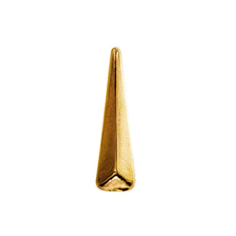 召集する最大限傘Bonnail ロングトライアングル ゴールド 12P