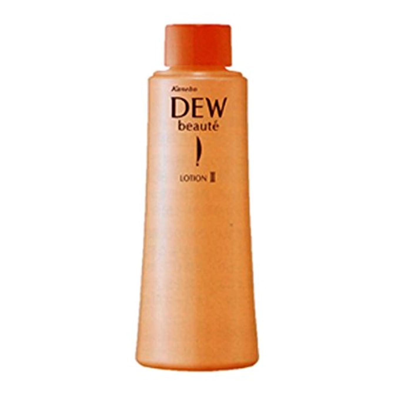 怖い香り精緻化【カネボウ化粧品】DEWボーテ ローションII レフィル(もっとしっと) 150ml