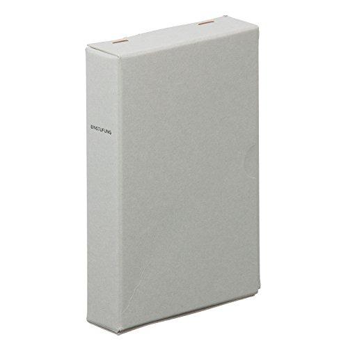 [해외]라코닛쿠 엽서 수납 케이스 그레이 두꺼운 보드 종이 LSK02-40GY/Laconic postcard storage case Gray heavyweight board paper LSK 02 - 40 GY