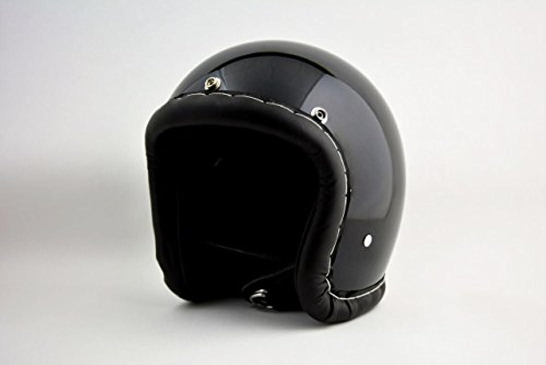 加害者明らかにする官僚BICYCLE HELMET?HORIZON/TIGHT SMALL JET/500-TX タイトスモールジェットヘルメット/レザートリム/ブラック/L