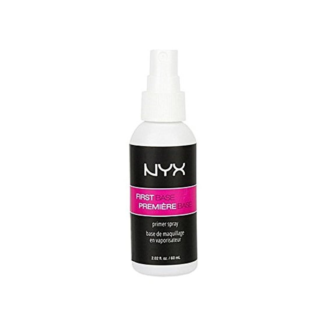女王火山学副化粧品第一塩基プライマースプレー x2 - Nyx Cosmetics First Base Primer Spray (Pack of 2) [並行輸入品]
