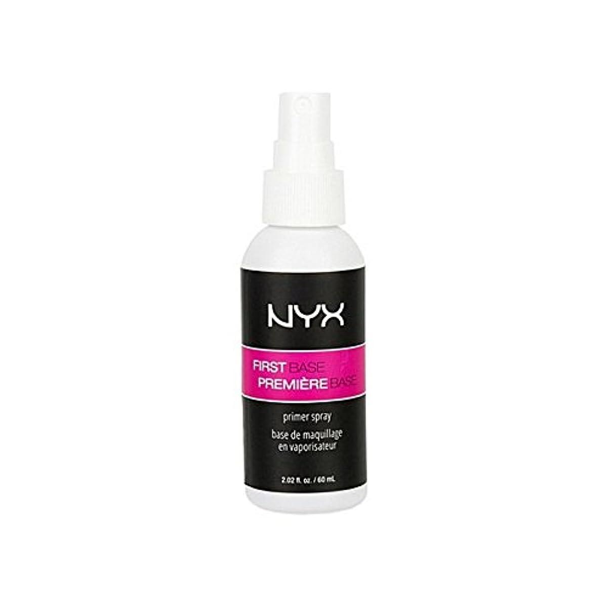 ヘルメット推定する独立してNyx Cosmetics First Base Primer Spray (Pack of 6) - 化粧品第一塩基プライマースプレー x6 [並行輸入品]