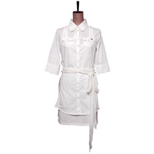 (ミスシックスティ) miss sixty ホワイトシャツドレスワンピース