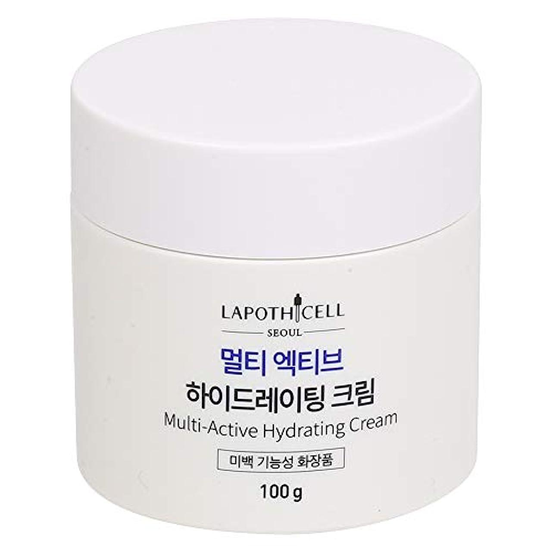 水分割国籍Lapothicell☆Multi-Active Hydrating Cream100g[並行輸入品]