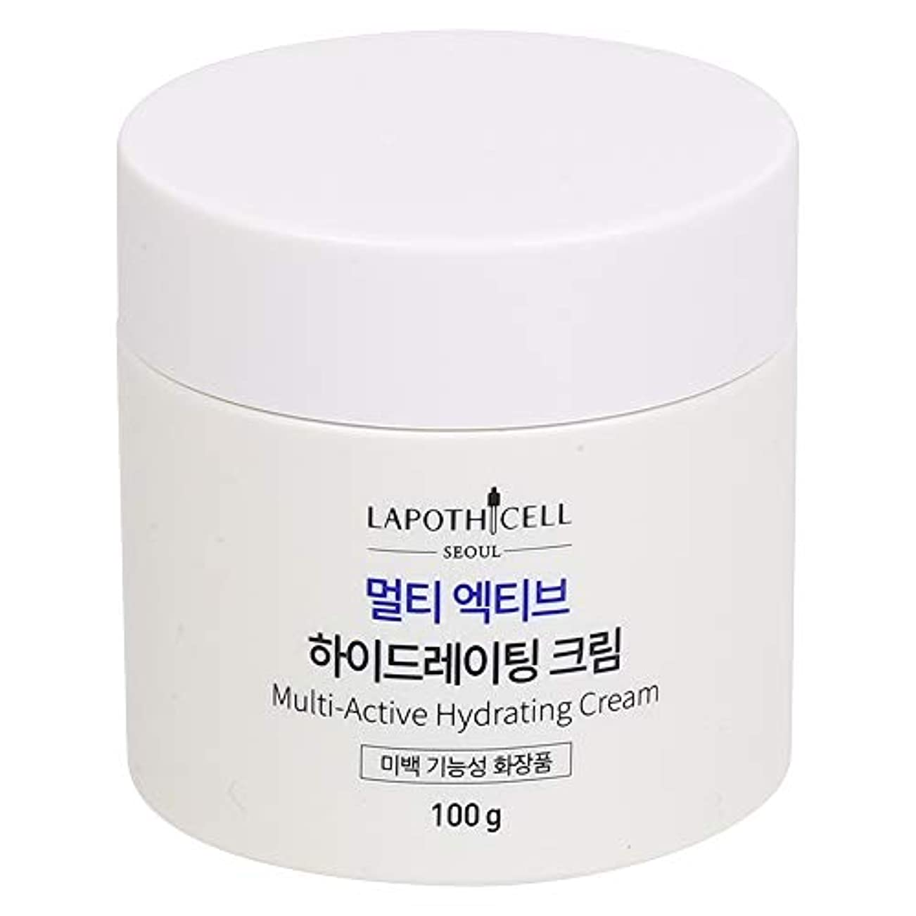中コンデンサー複製するLapothicell☆Multi-Active Hydrating Cream100g[並行輸入品]